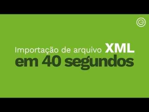 Faça importação XML em 40 segundos no sistema e-Contab