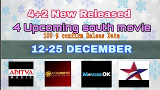 Top 4 Upcoming South  Hindhi Dubb Movie December 3rd Week || Star gold |Zee Cinema|TV and youtube