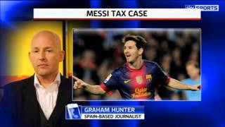 Messi accused of tax fraud