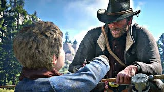 Red Dead Redemption 2 - Fishing With Jack Marston & Meeting Feds (Milton & Ross)