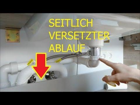 Siphon Ablaufgarnitur Waschbecken Aufbau Einbauen Zusammenbauen