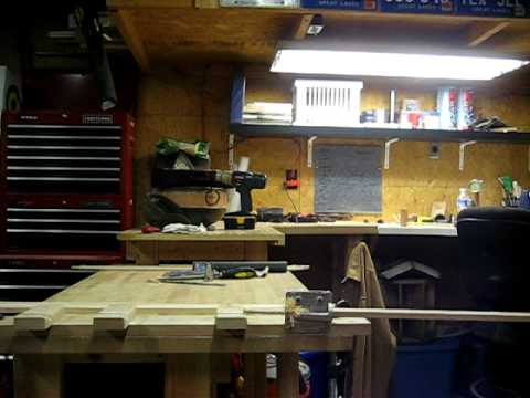 Making Arrow Shafts using the Veritas Dowel Maker