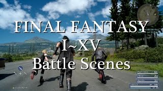Evolution of FINAL FANTASY I~XV