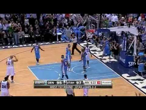 Denver Nuggets vs. Utah Jazz - Game 6 Recap [NBA Playoffs 2010] Video