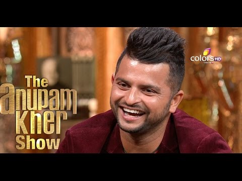 Suresh Raina - The Anupam Kher Show - Season 2 - 6th September 2015