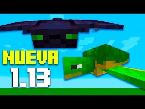 Minecraft | NUEVA ACTUALIZACIÓN 1.13 - Nuevos MOBS, ARMAS, ITEMS, y más!!