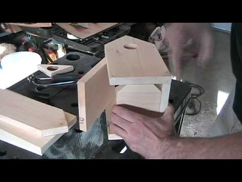 How to Build a Bird House DIY - Great for Chickadees and Swallows
