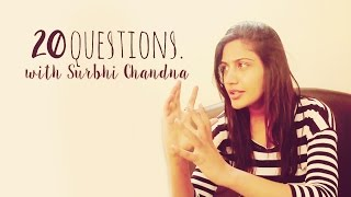 20 Questions with Surbhi Chandna | Ishqbaaaz