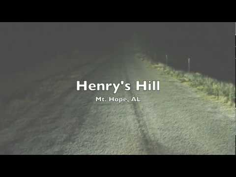 Henry's Hill (haunted hill) in Mt Hope, Alabama - EVP, Orb & Apparition Captured