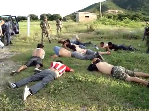 Ejercito detiene a federales que atacaron a municipales en cd ixtepec