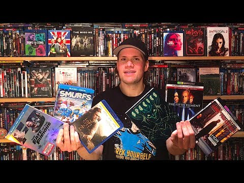 My Blu-ray Collection Update 7/8/17 : Blu ray and Dvd Movie Reviews
