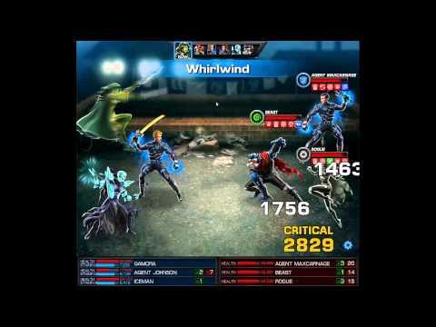 Marvel Avengers Alliance-Gamora in PVP