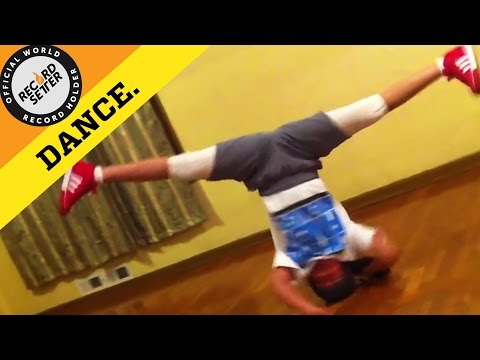 World Record: Longest Headspin