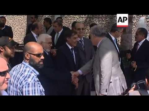 Turkish PM Erdogan arrives in Libyan capital