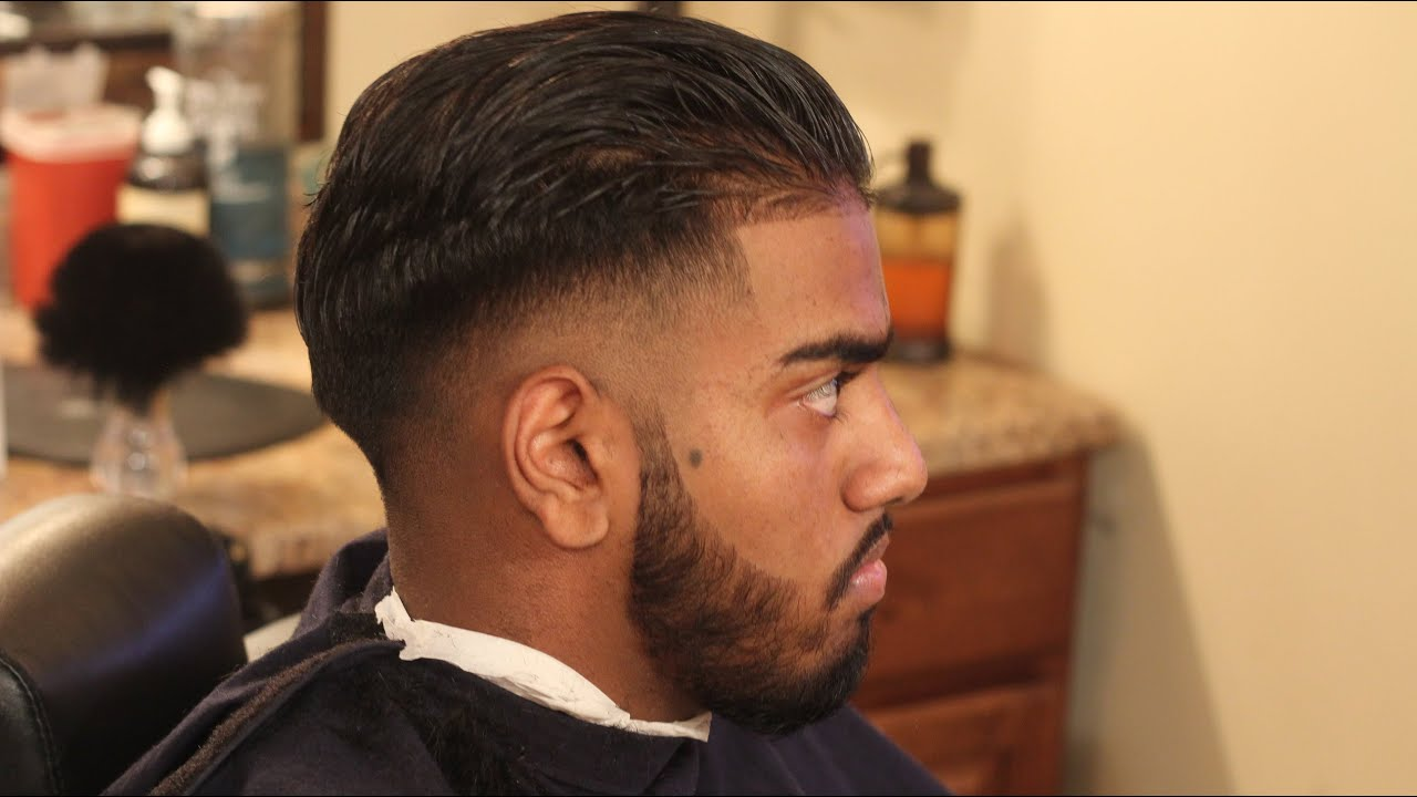 Mens haircut undercut