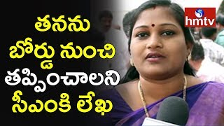 TDP MLA Anitha Writes Letter To Chandrababu Naidu | TTD  | hmtv