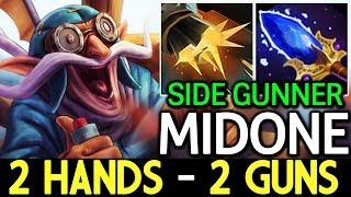 MidOne [Gyrocopter] 2 Hands - 2 Guns Build 7.14 Dota 2