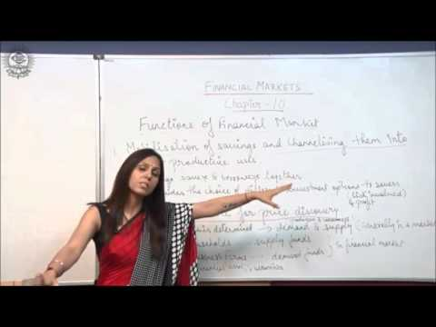 Functions of Financial Market Class XII Bussiness Studies by Dr  Heena Rana