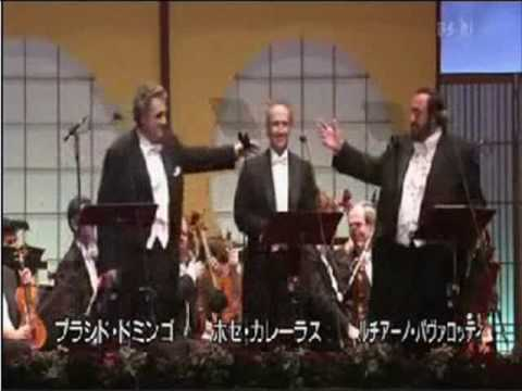 The Three Tenors - Ti Voglio Tanto Bene (Yokohama 2002)