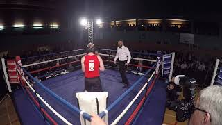 Ultra White Collar Boxing | Milton Keynes Ring 1 | Chris Pain VS Kano McNulty