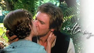han & leia | outlaws