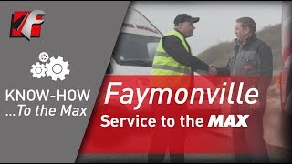 FAYMONVILLE - Service to the MAX