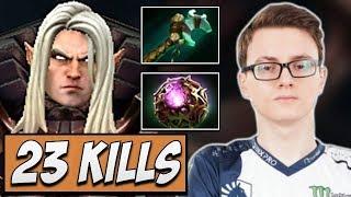 Liquid.Miracle Best Invoker with 23 KILLS | Dota Gameplay