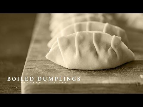 [No Music] How to make Boiled Dumplings