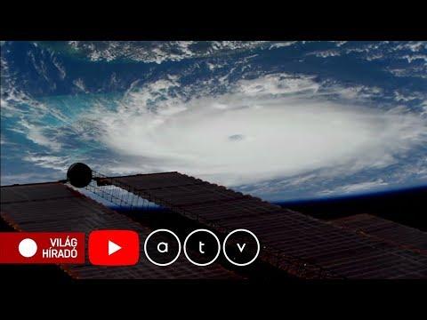 A Bahamákat letarolta, most Florida felé tart a Dorian hurrikán