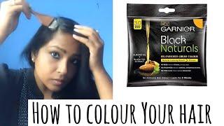 Affordable Hair color Garnier Black Naturals Hair Colour Reivew