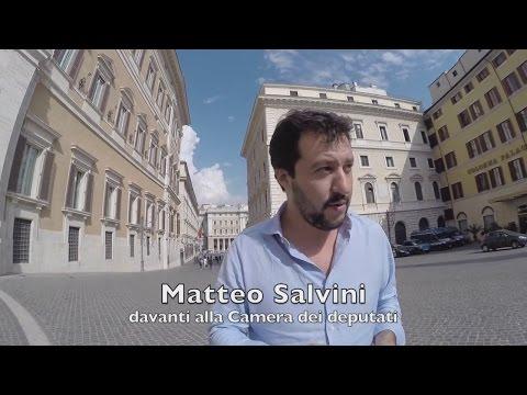 """Matteo Salvini: """"Renzi è un bluff sui pm"""""""