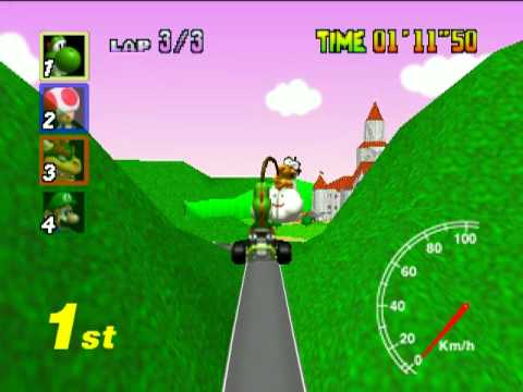 Mario Kart 64 TAS, Star Cup Test Run