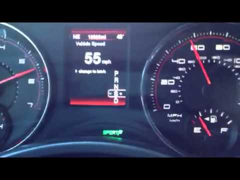dodge charger   speed sport mode youtube