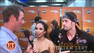William Levy @willylevy29 & Cheryl Burke React to Blunder // ETOnline