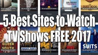 Top 5 Best Sites To Watch / Download TV Shows Online FREE Without Registration
