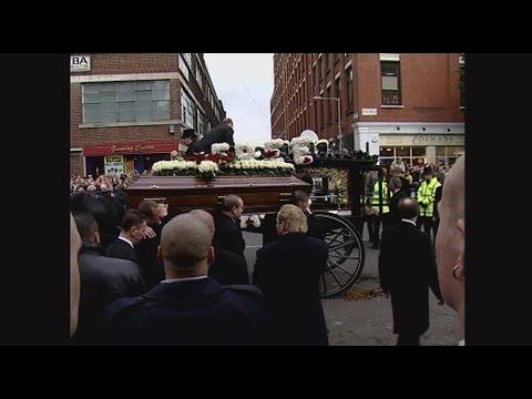 Reg Kray's Funeral - Part 1 - Intro Yvette Rowland