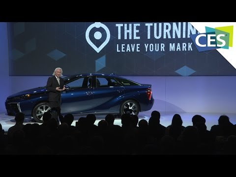 Toyota's Big Announcement at CES 2015!