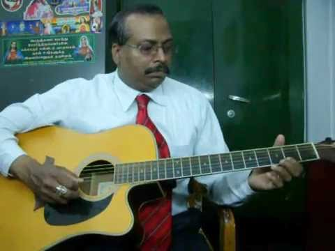 Om Jai Jagadish Hare Guitar Instrumental By Rajkumar Joseph.m video