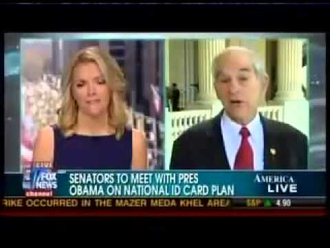 RFID CHIP & NATIONAL ID Coming March 23, 2013 Ron Paul warns