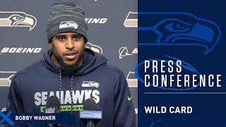 Seahawks Linebacker Bobby Wagner Wild Card Press Conference
