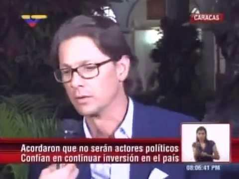 Declaraciones de Lorenzo Mendoza tras reunión con Maduro