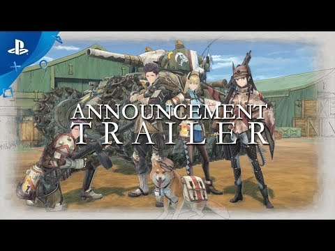 Valkyria Chronicles 4 - Announcement Trailer | PS4