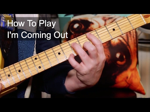 'I'm Coming Out' Diana Ross - Nile Rogers Guitar Lesson