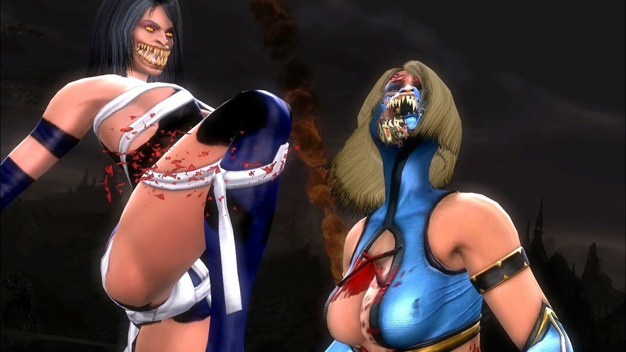 Nude pics of mileena from mk porncraft tube