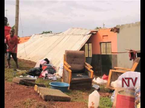 Mpigi rains cause property and crop damage