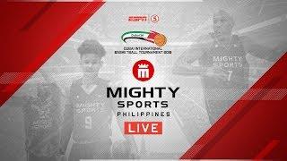 Mighty Sports Philippines vs. UAE National Team   2019 Dubai International Basketball Championship