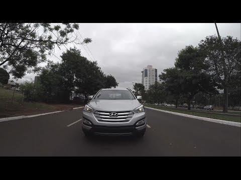 Avaliação Hyundai Santa Fé 3.3   AT 2014 (Canal Top Speed)