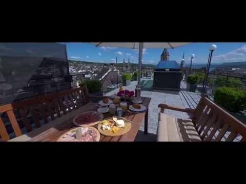 THE WIDDER HOTEL, ZURICH, SWITZERLAND - 5-STAR LUXURY TRAVEL FILM