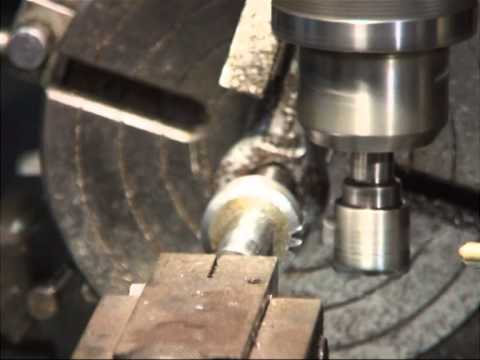 Cutting high carbon steel involute gears with a HSS flycutter