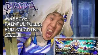 Dissidia Final Fantasy: Opera Omnia JP: MASSIVE, PAINFUL PULLS FOR PALADIN CECIL ON TWITCH!!